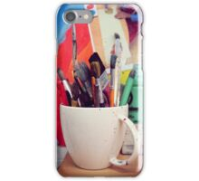 Still Life with Brushes iPhone Case/Skin