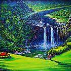 Waimea Falls  by jyruff