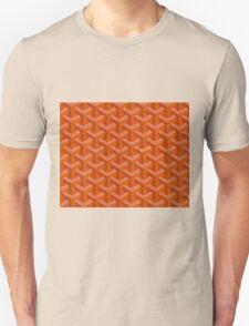 Goyard case orange Unisex T-Shirt