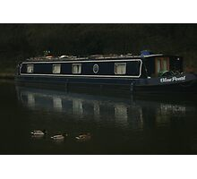 Canal Boats! Photographic Print