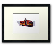 Fire & Rescue Mobile Command. Framed Print