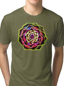Organic Mandala - Artichoke Tri-blend T-Shirt