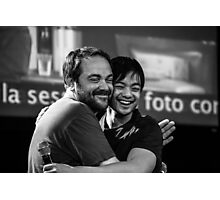 Mark Sheppard and Osric Chau // Jus In Bello 5, 2014 Photographic Print