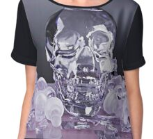 Skulls and Shattered Dreams Chiffon Top
