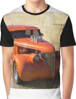 Orange Hot Graphic T-Shirt