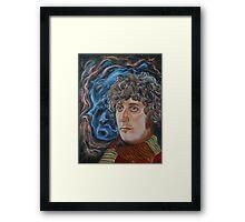 Fourth Doctor (Tom Baker) Framed Print