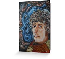 Fourth Doctor (Tom Baker) Greeting Card