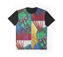 Punk Rock Zombie Graphic T-Shirt