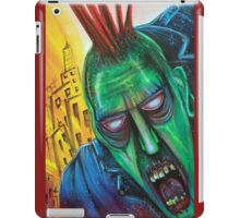 Punk Rock Zombie iPad Case/Skin