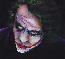 The Joker (Dark Knight) by BapplePancakes