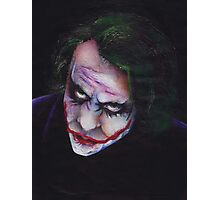 The Joker (Dark Knight) Photographic Print