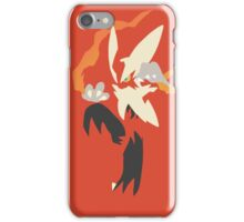 Mega Blaziken iPhone Case/Skin