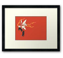Mega Blaziken Framed Print