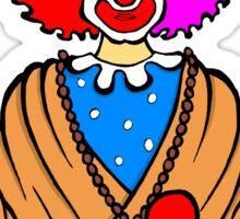 Clown Zen Sticker