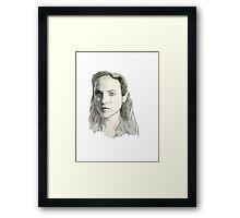 Lost Girl - Bo/Succubus Framed Print