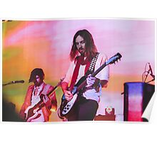 Kevin Parker playing live for Tame Impala Poster