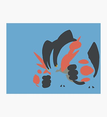 Mega Swampert Photographic Print