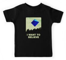 I Want to Believe in Ramiel [Black] Kids Tee