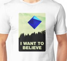 I Want to Believe in Ramiel [White] Unisex T-Shirt