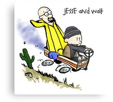 Jesse and Walt Metal Print
