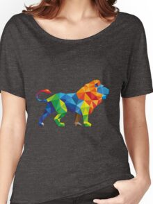 Polygon Lion Women's Relaxed Fit T-Shirt