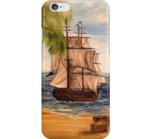 Pirate and Pirate Ship iPhone Case/Skin