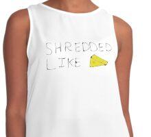Shredded like Cheese Contrast Tank