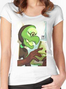 Pokegems - Centipeetle Women's Fitted Scoop T-Shirt