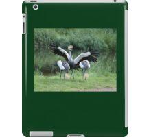 Crowned crane iPad Case/Skin