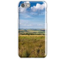 Scotland view from the English borders iPhone Case/Skin