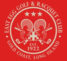 East Egg Golf & Racquet Club by LicensedThreads
