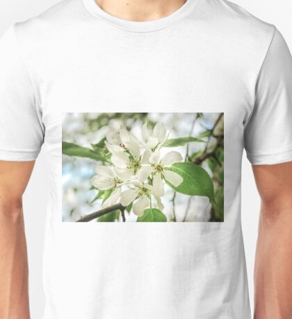 the Apple blossoms  Unisex T-Shirt