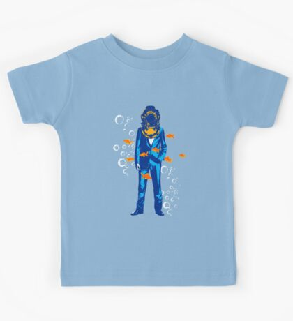 Deep sea diving suit Kids Tee