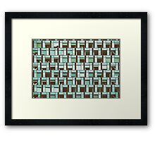 Business Building Windows Abstract Detail Framed Print