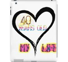 MY Life iPad Case/Skin