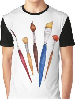 fan of brushes Graphic T-Shirt