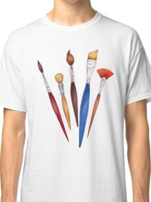 fan of brushes Classic T-Shirt