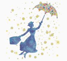 magical mary poppins Kids Tee