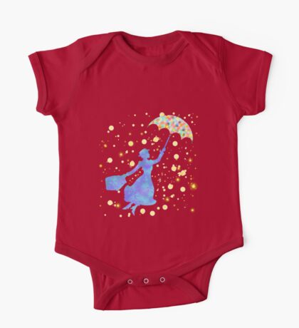 magical mary poppins One Piece - Short Sleeve