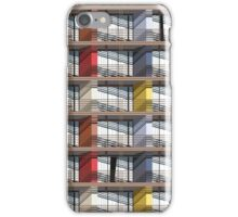colorful facade iPhone Case/Skin