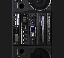Boombox case by ngdesign81