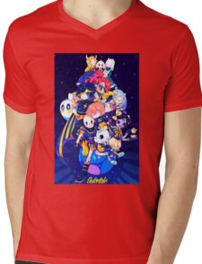 Undertale - Outertale! Mens V-Neck T-Shirt