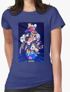 Undertale - Outertale! Womens Fitted T-Shirt