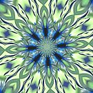 Patterned Blue by ScaleDesigns