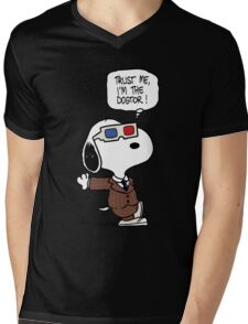 The Dogtor Mens V-Neck T-Shirt