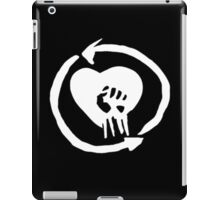 Rise Against Heart Fist Clean Look White iPad Case/Skin