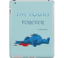 The Last Massage Of Cookie Monster iPad Case/Skin