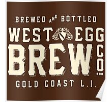 West Egg Brewery Poster