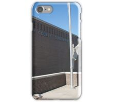 Coffey County, Kansas Courthouse iPhone Case/Skin