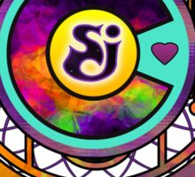 String Cheese Incident Colorado Love Sacred Funkadelic Sticker